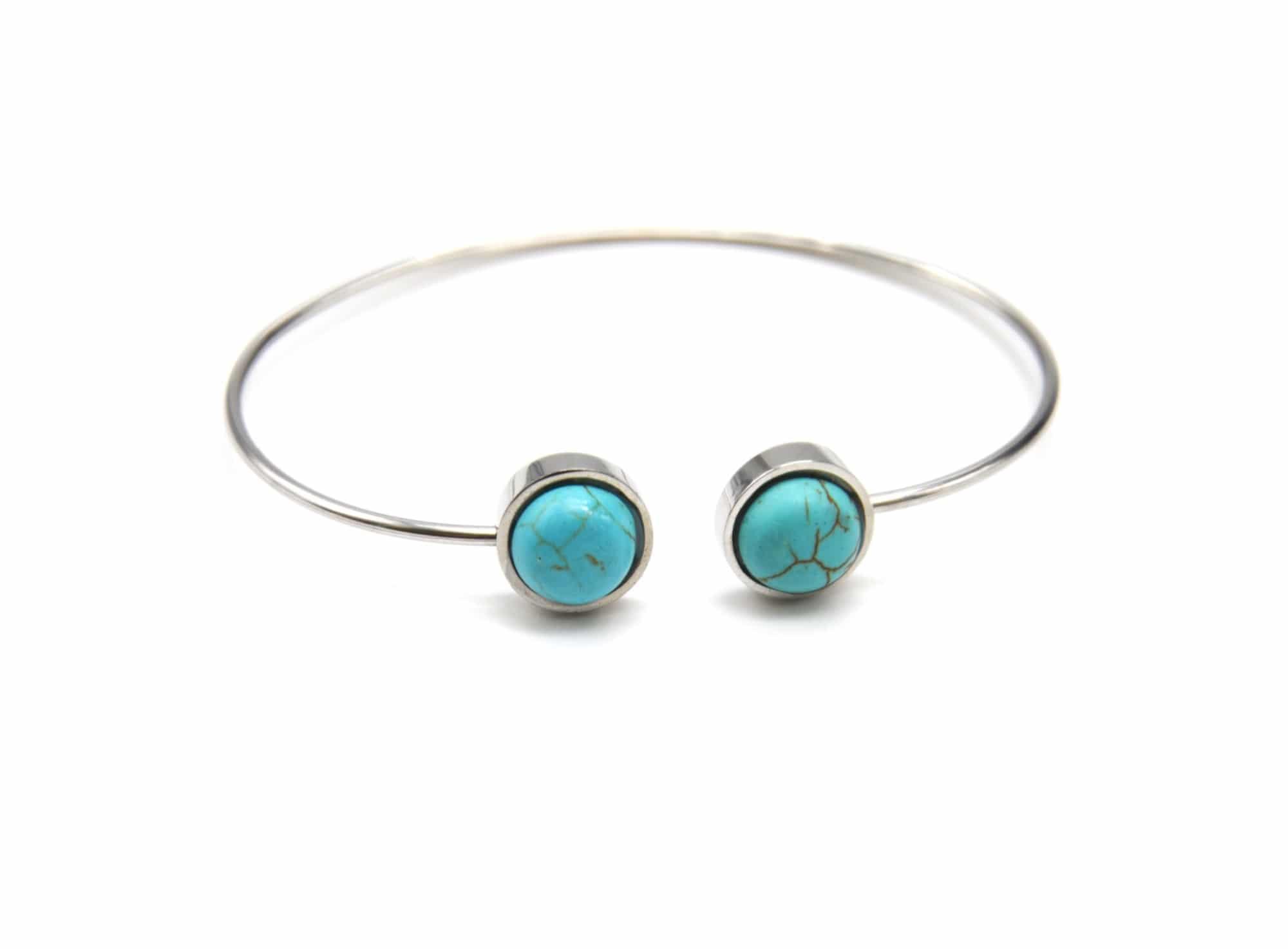 bracelet avec turquoise