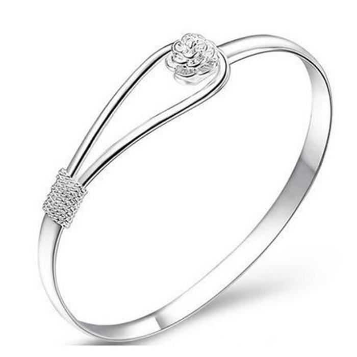 bracelet en argent pour femme pas cher