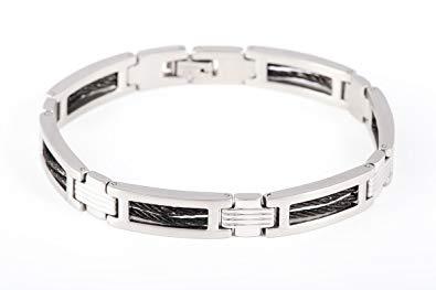 bracelet homme acier