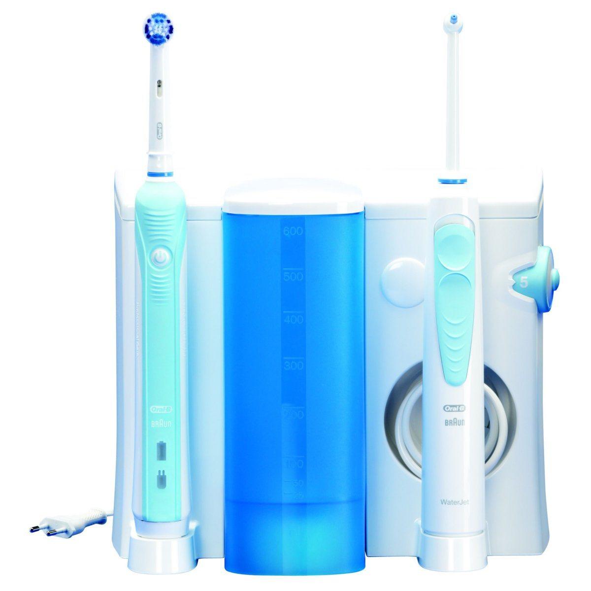 brosse a dent electrique et jet dentaire
