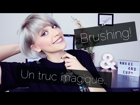 brosse soufflante brushing cheveux courts