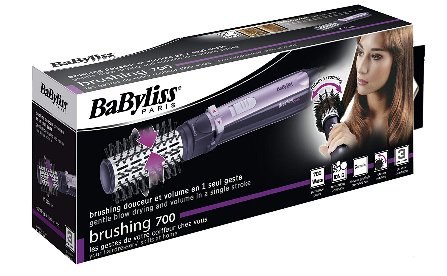 brushing babyliss