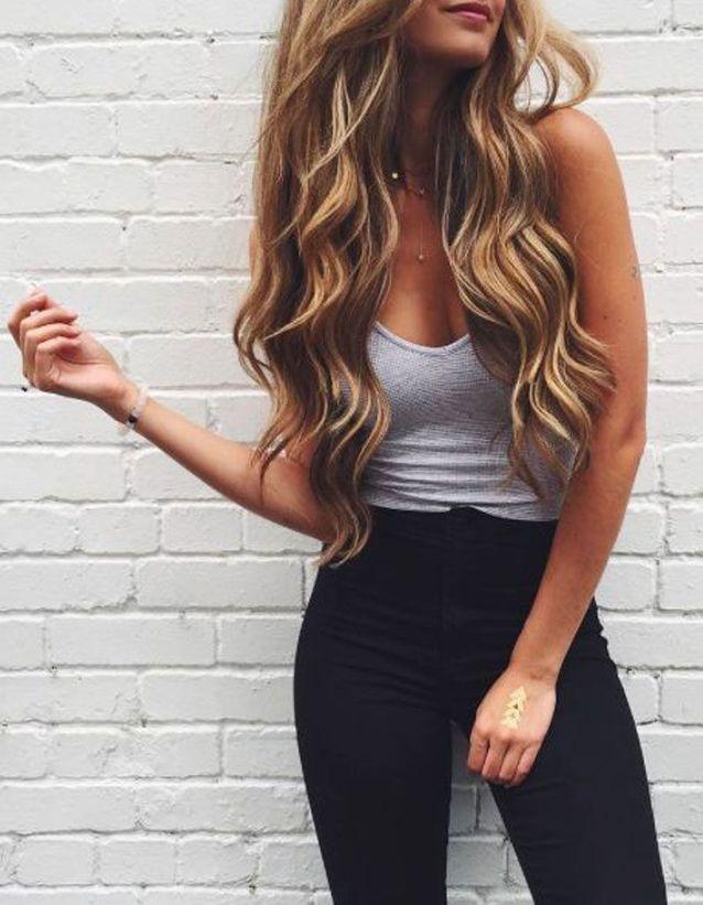 brushing bouclé cheveux long