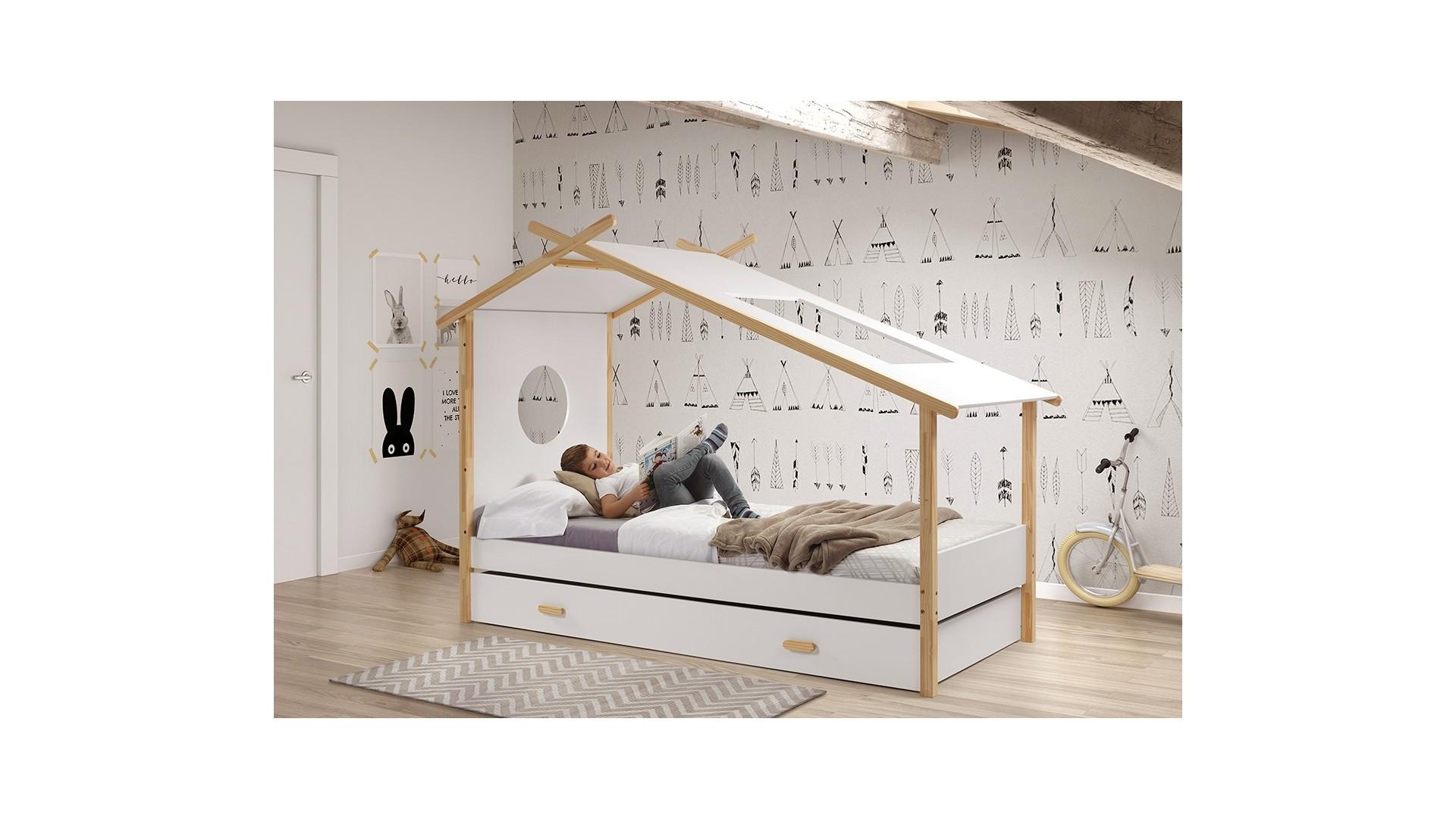 cabane enfant lit