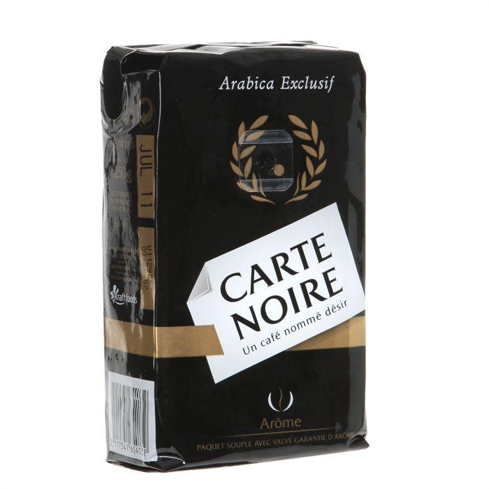 café carte noire moulu