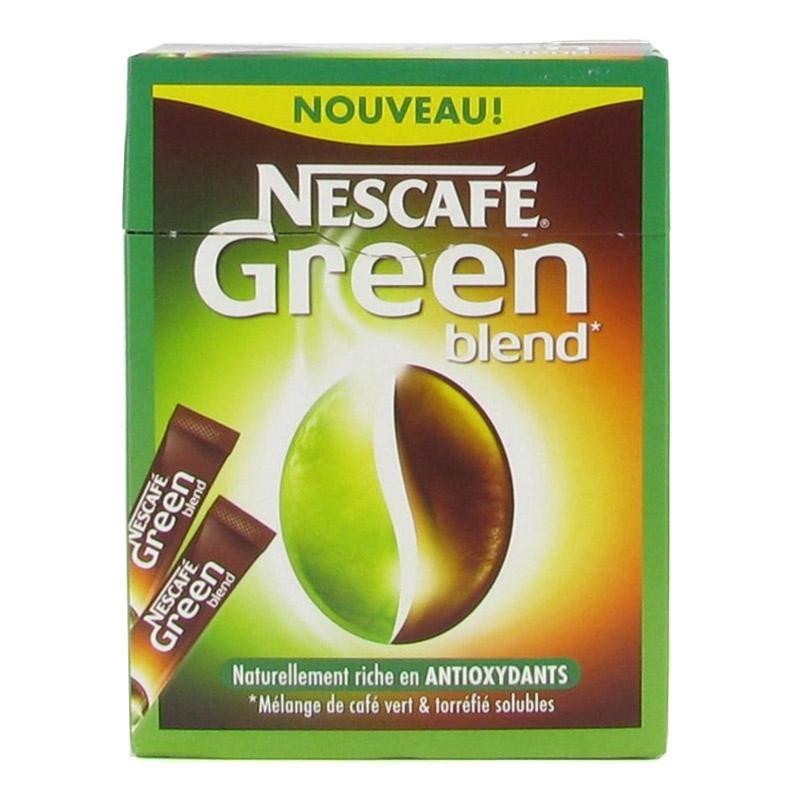 café vert en stick