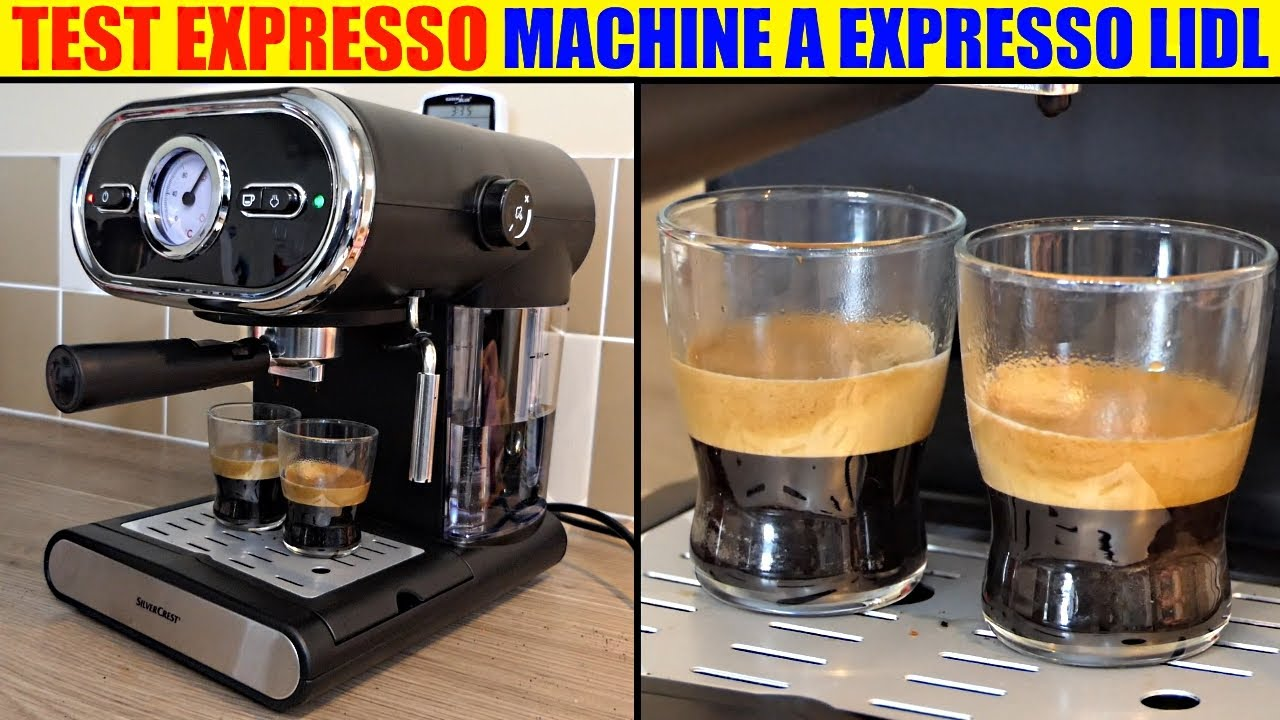 cafetiere expresso test