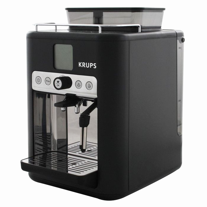 cafetiere krups cafe grains