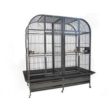 cage perroquet double