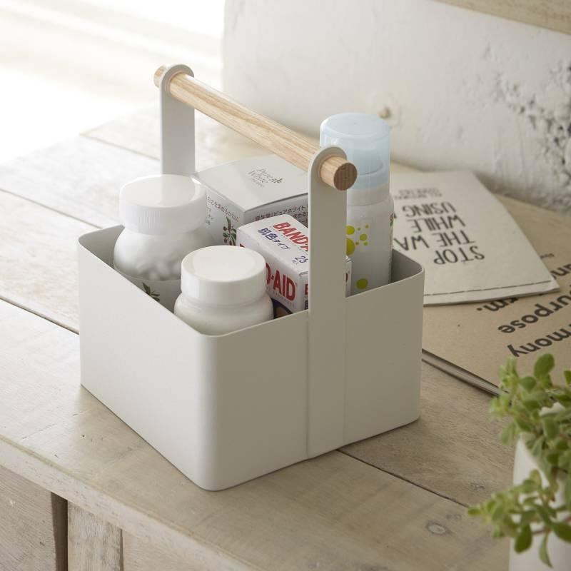 caisse rangement salle de bain