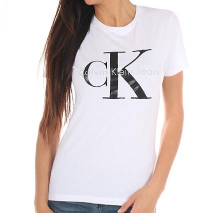 calvin klein tee shirt femme