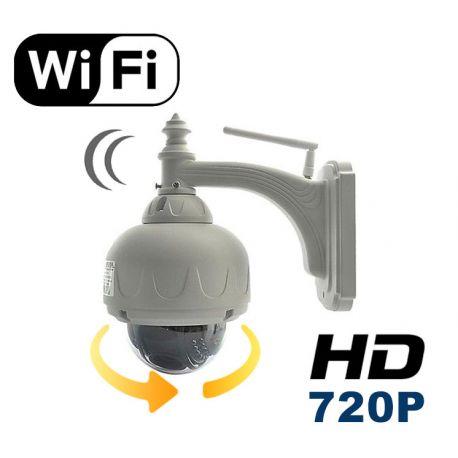 camera de surveillance ip wifi exterieure motorisee