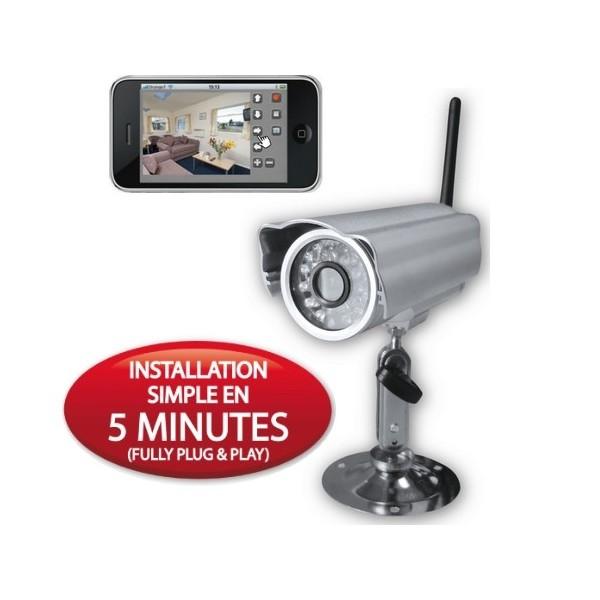 camera de surveillance sans fil exterieur pas cher