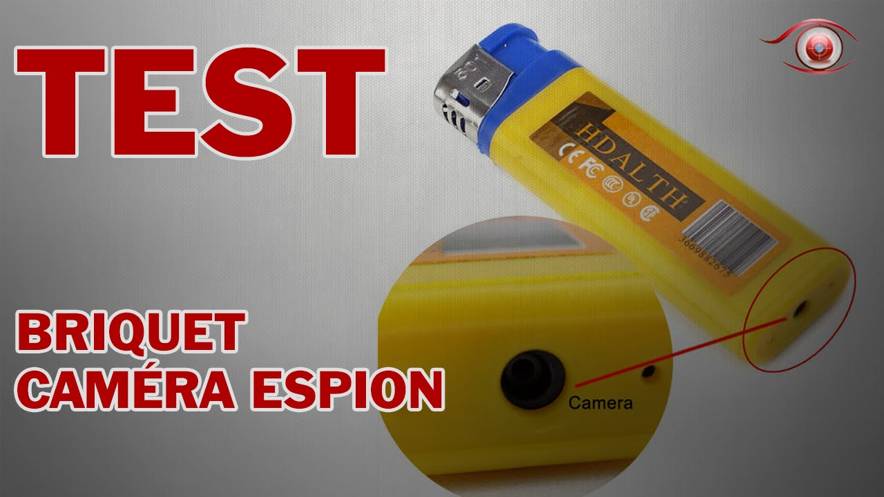 camera espion briquet