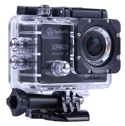 caméra sport tectectec xpro2 ultra hd 4k