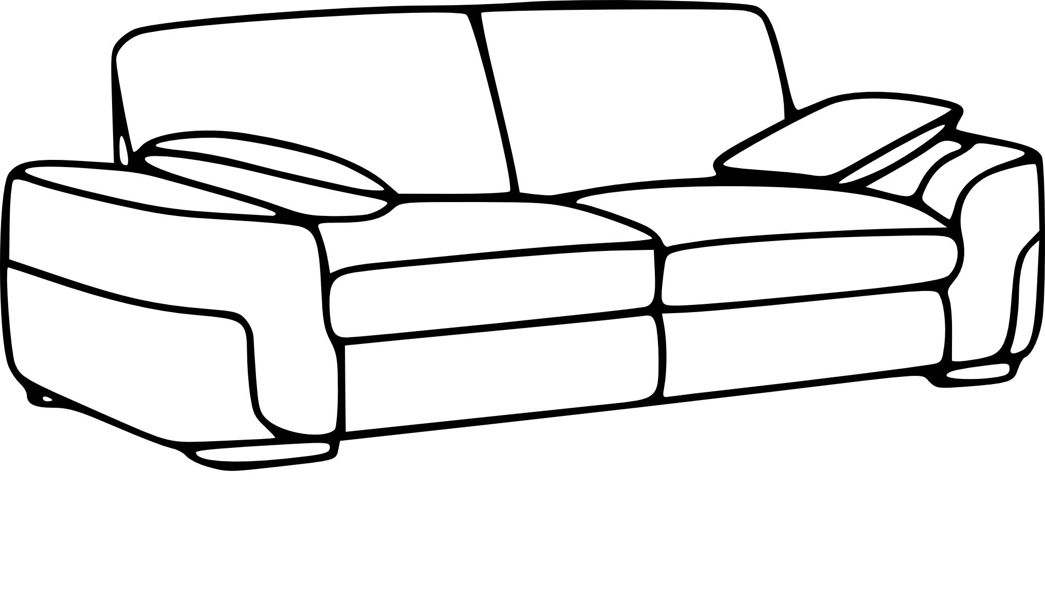 canapé dessin