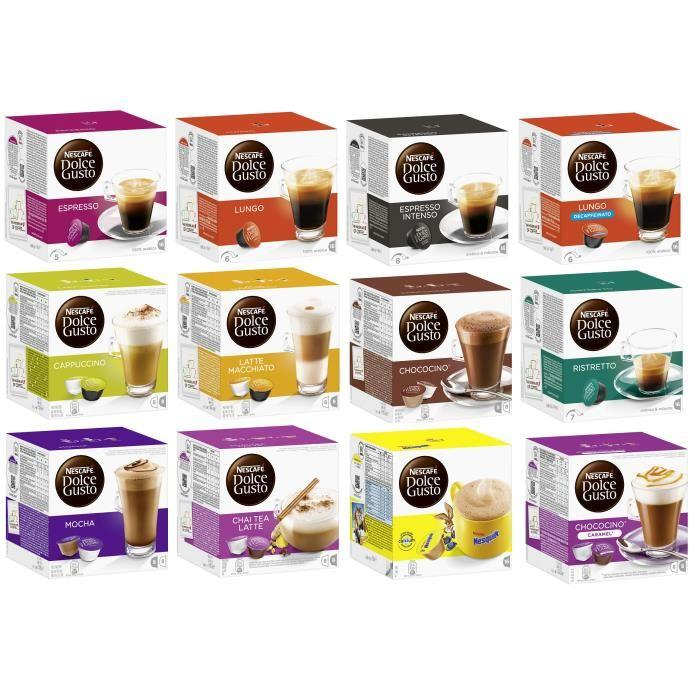 capsule dolce gusto pas cher