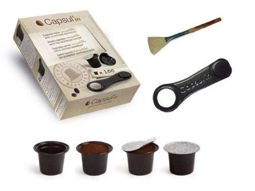 capsules vides compatibles nespresso