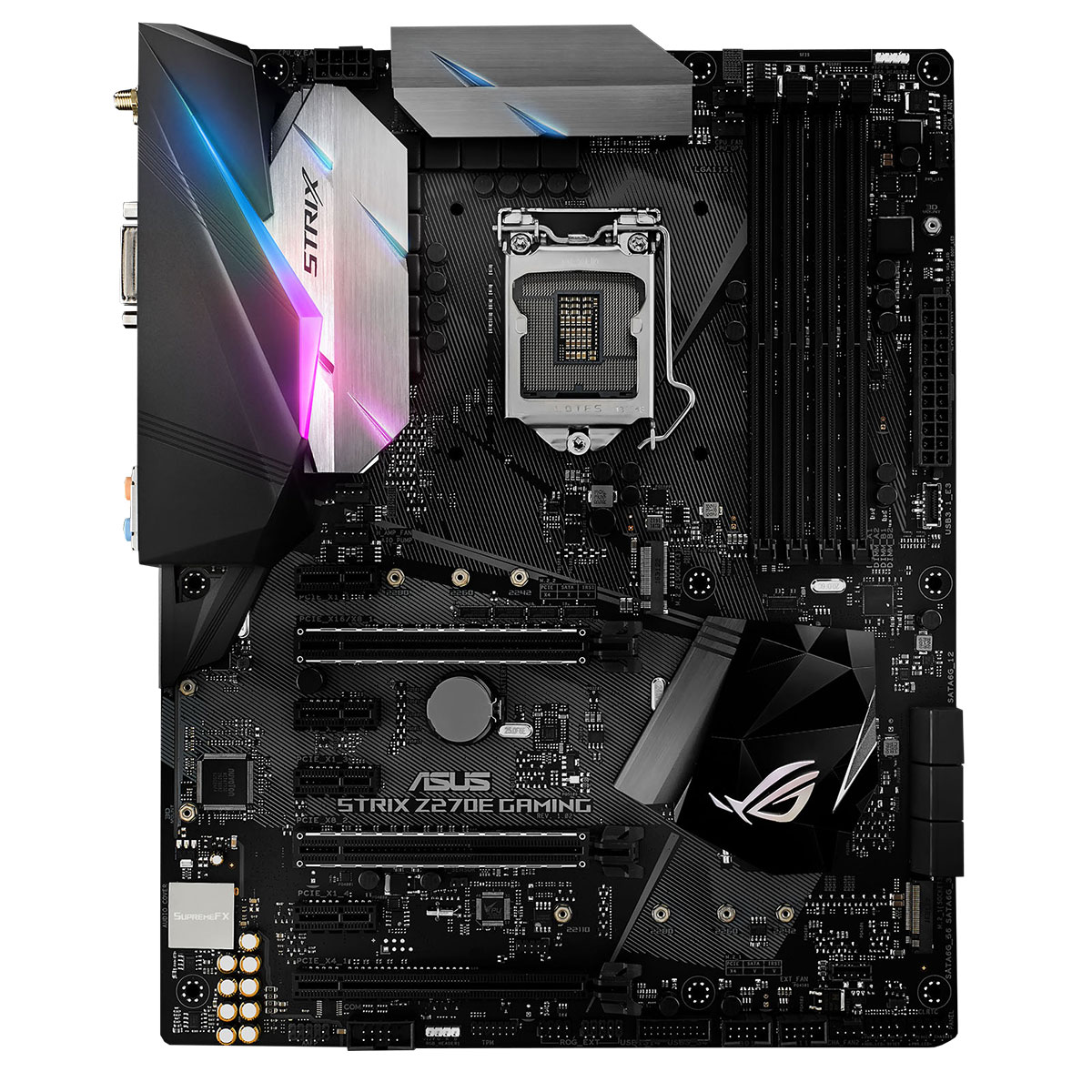 carte mère asus rog strix z270f gaming