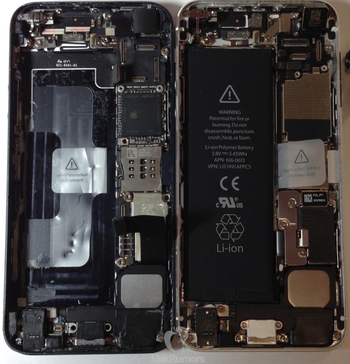 carte mere iphone 5s