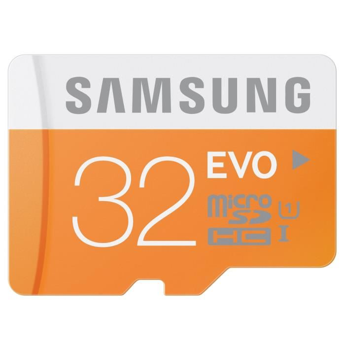 carte sd samsung 32 go