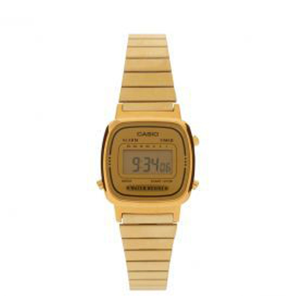 casio montre homme or