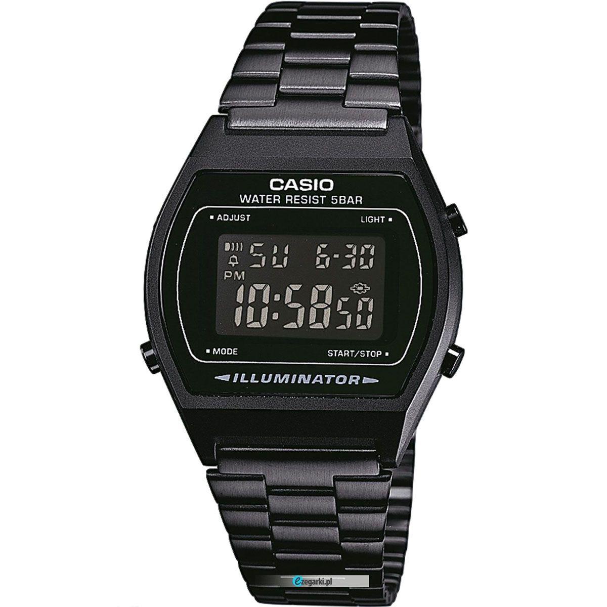 casio montre noir