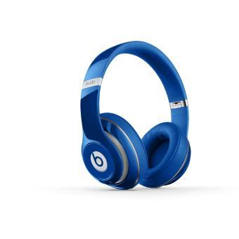 casque beat bleu