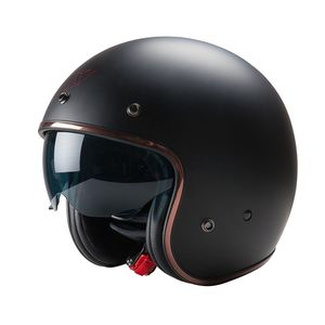 casque de moto jet
