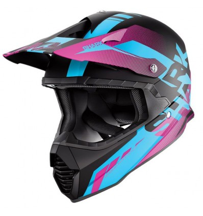 casque moto cross femme