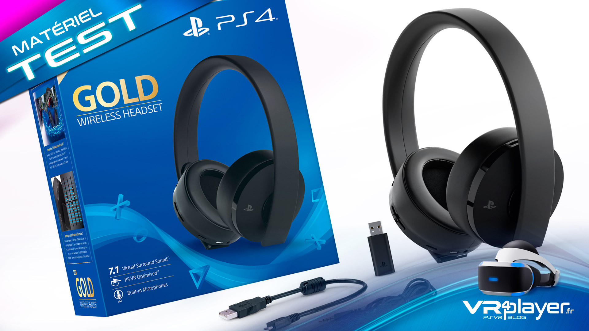 casque sony ps4 test