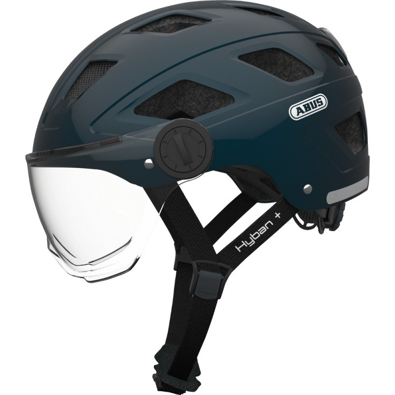 casque velo visiere retractable