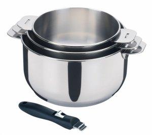casserole inox 18 10 manche amovible