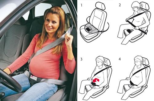 ceinture femme enceinte voiture