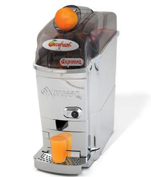 centrifugeuse orange entière