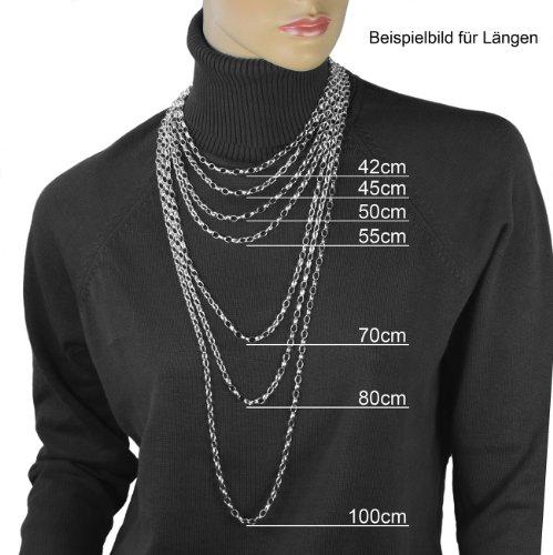 chaine argent 70 cm femme