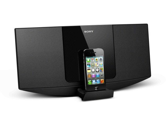 chaine hifi pour iphone