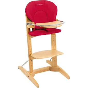 chaise haute bois bébé confort