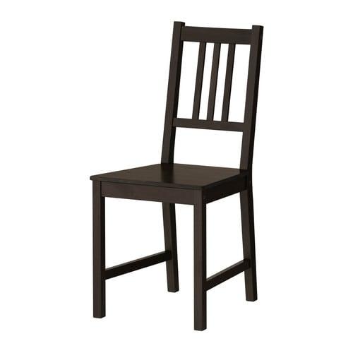 chaise ikea noir