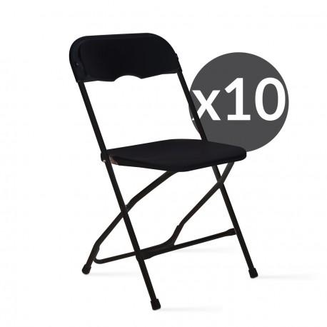 chaise pliante pas cher lot