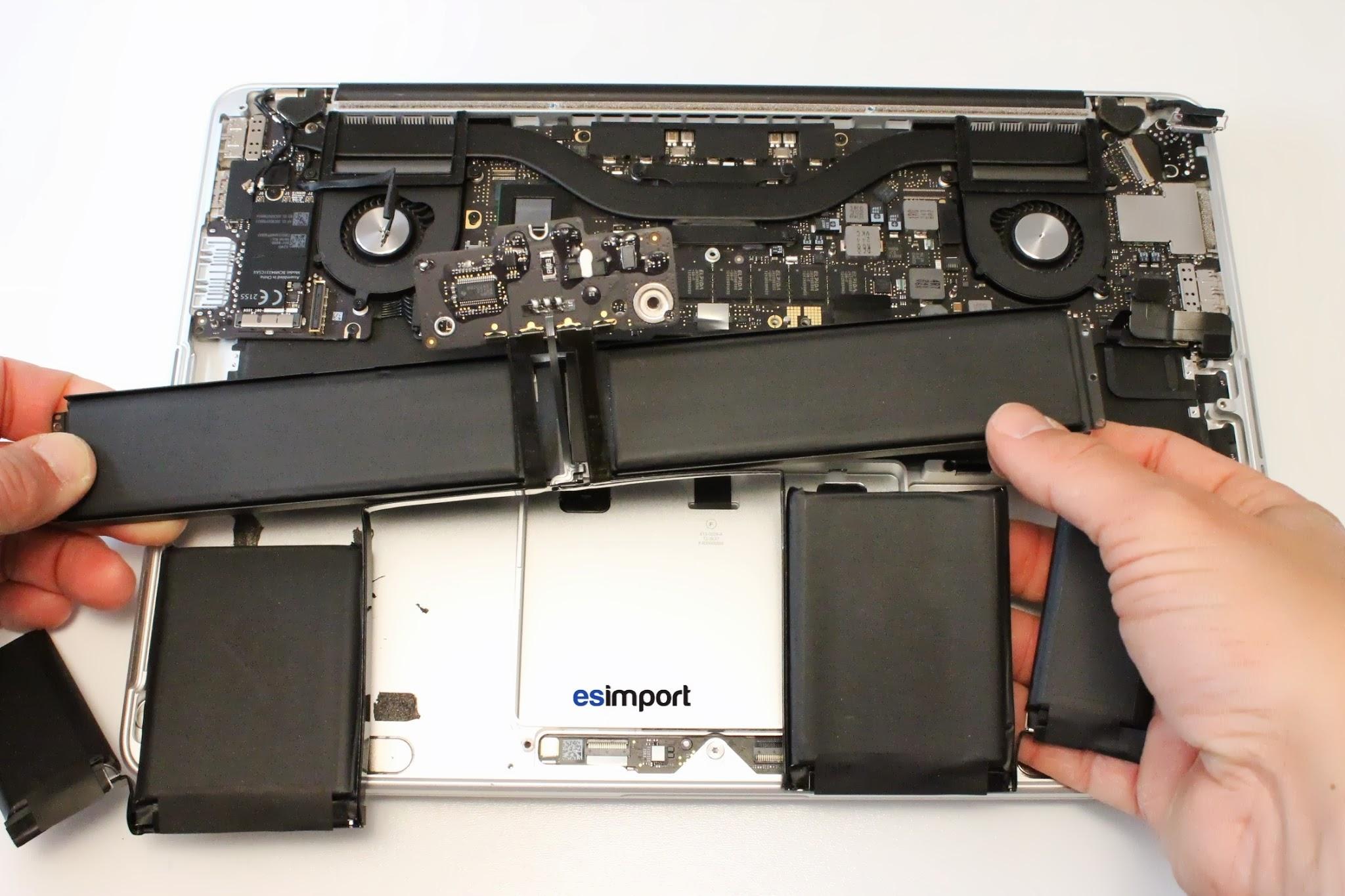 changer batterie macbook pro 13