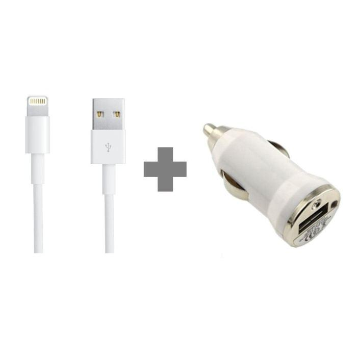 chargeur auto iphone 5
