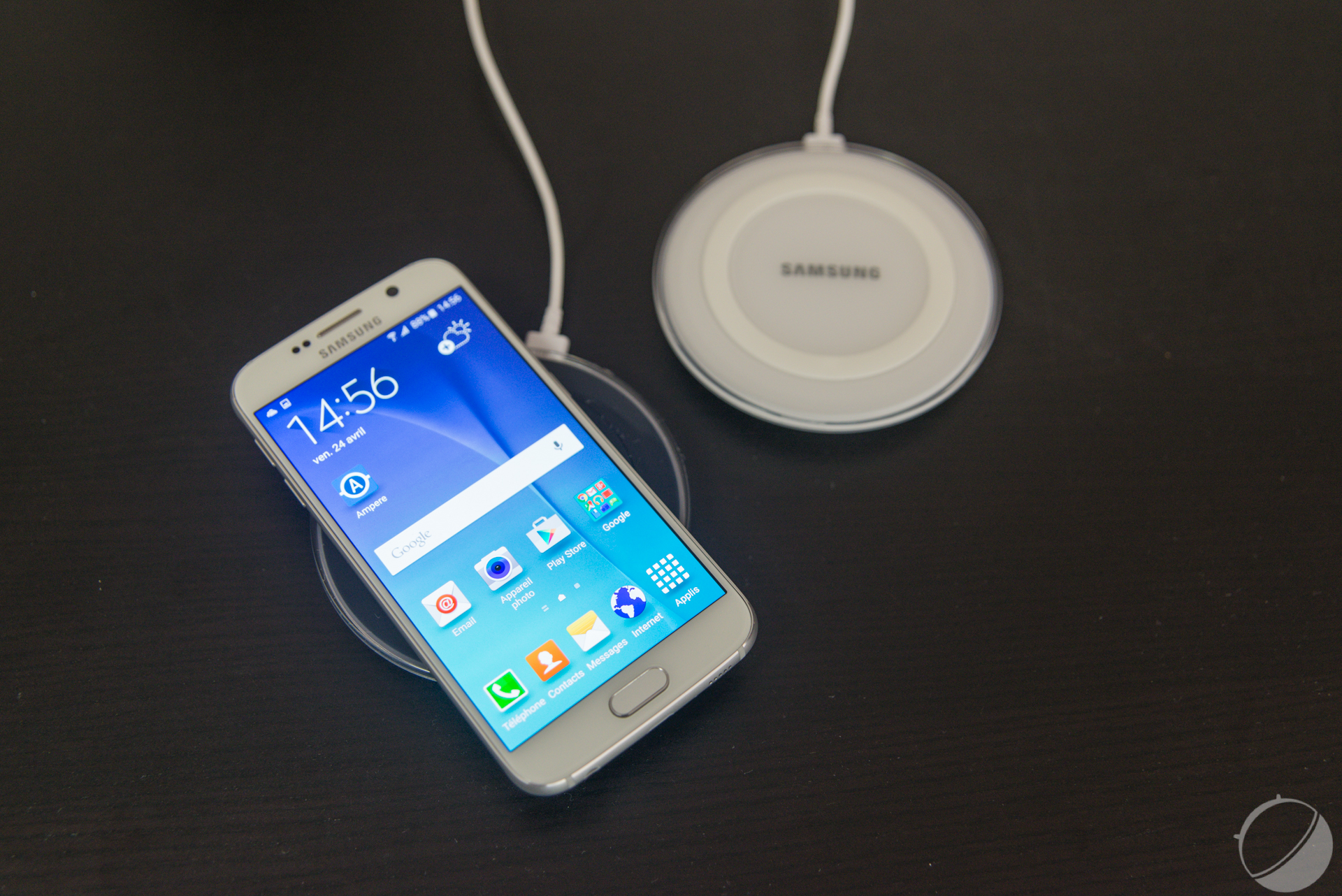 chargeur galaxy s6 induction