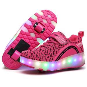 chaussure a roulette pas cher pour fille