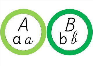 chenille alphabet