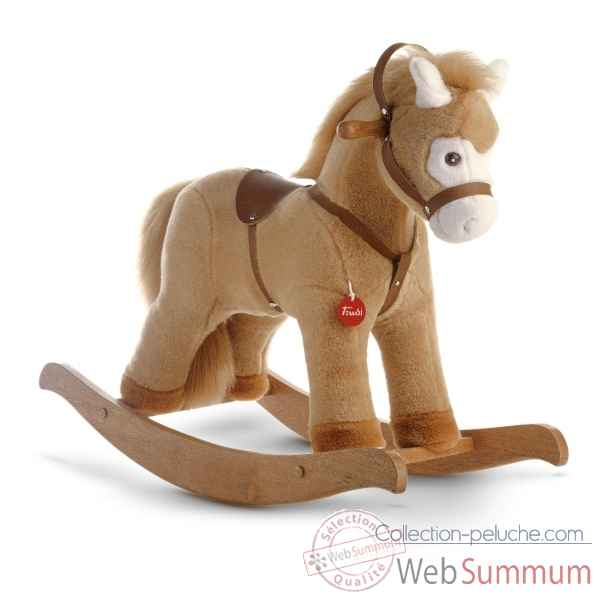 cheval a bascule peluche