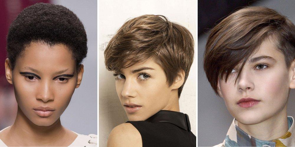 cheveux courte femme