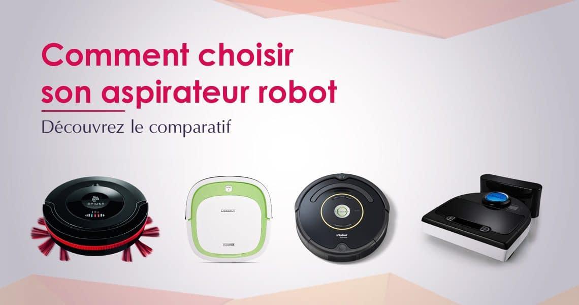 choix aspirateur robot