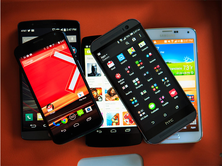 choix smartphone android