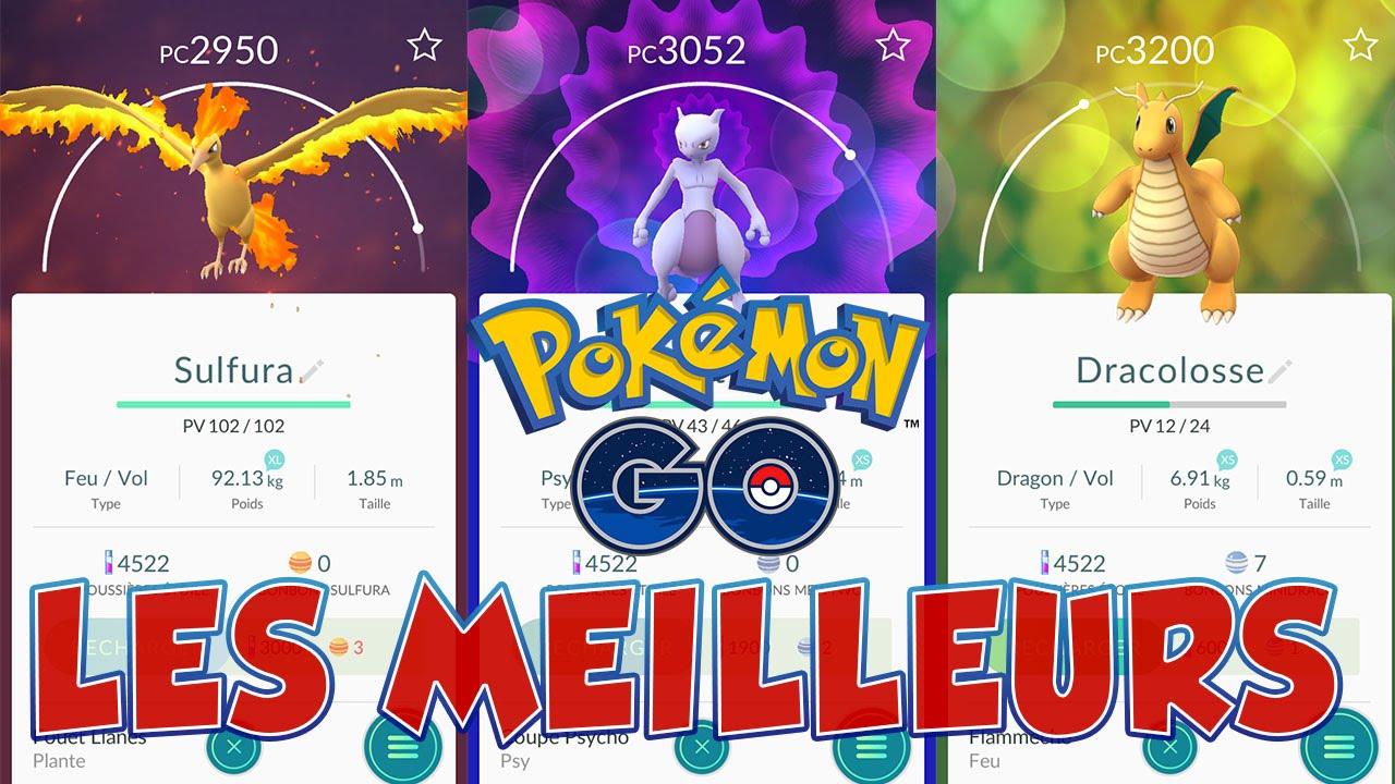 classement pokemon